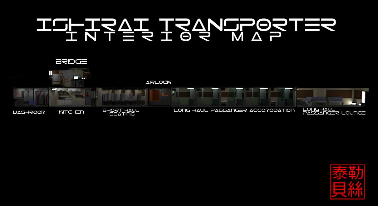 Ishirai Interior Map by Gwentari