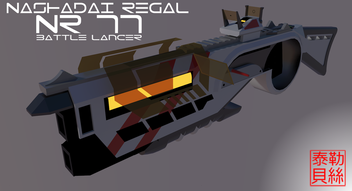 NR 77 Battle Lancer by Gwentari