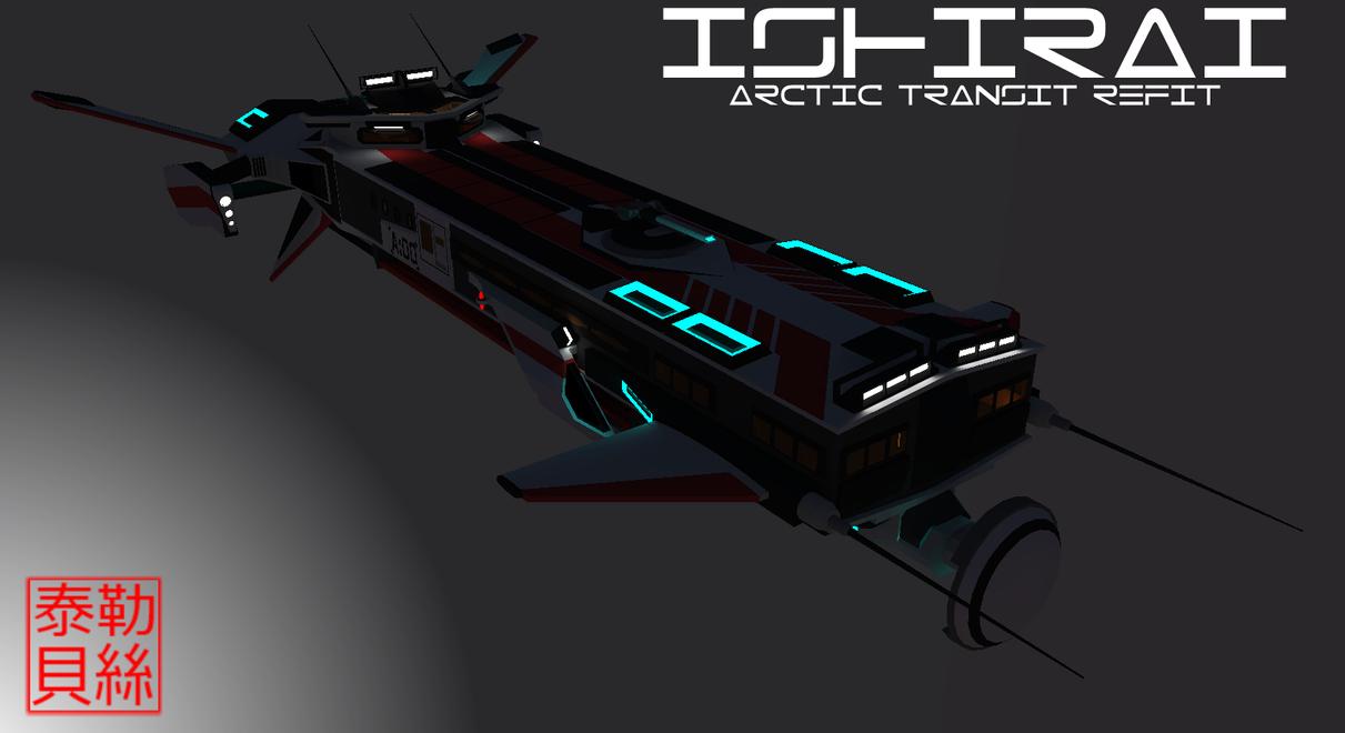 Ishirai Class Transport Arctic Refit [Aquarions] by Gwentari