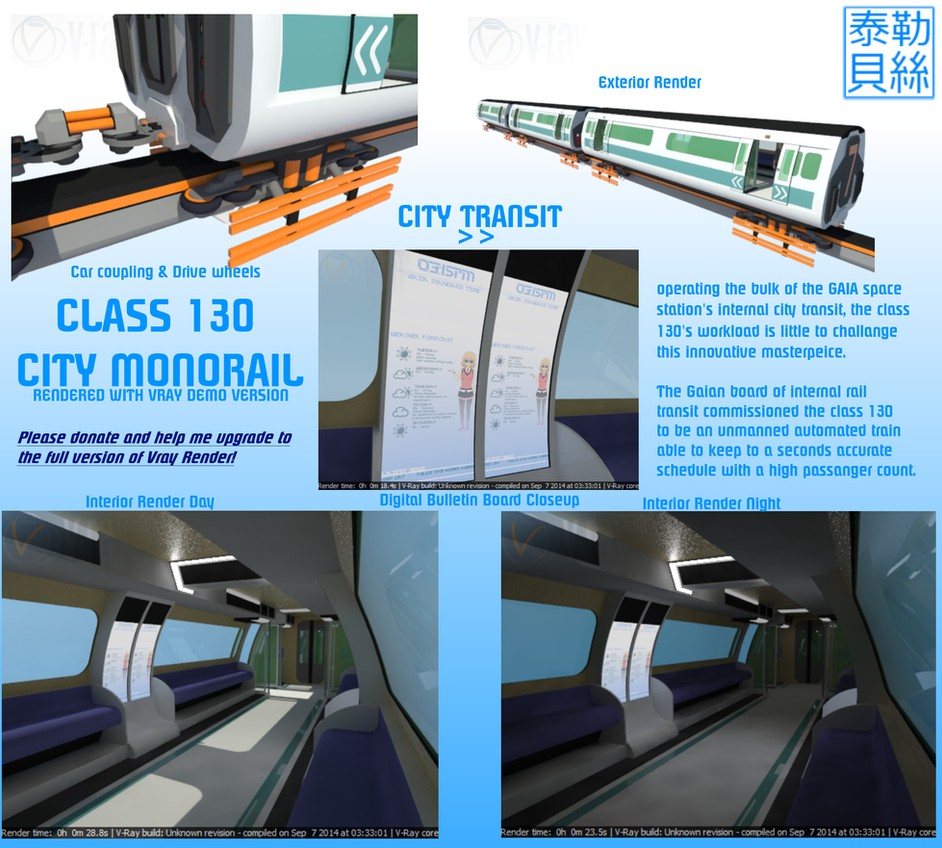 Class 130 City Monorail by Gwentari