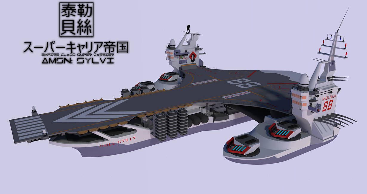Empire Class Super Carrier by Gwentari