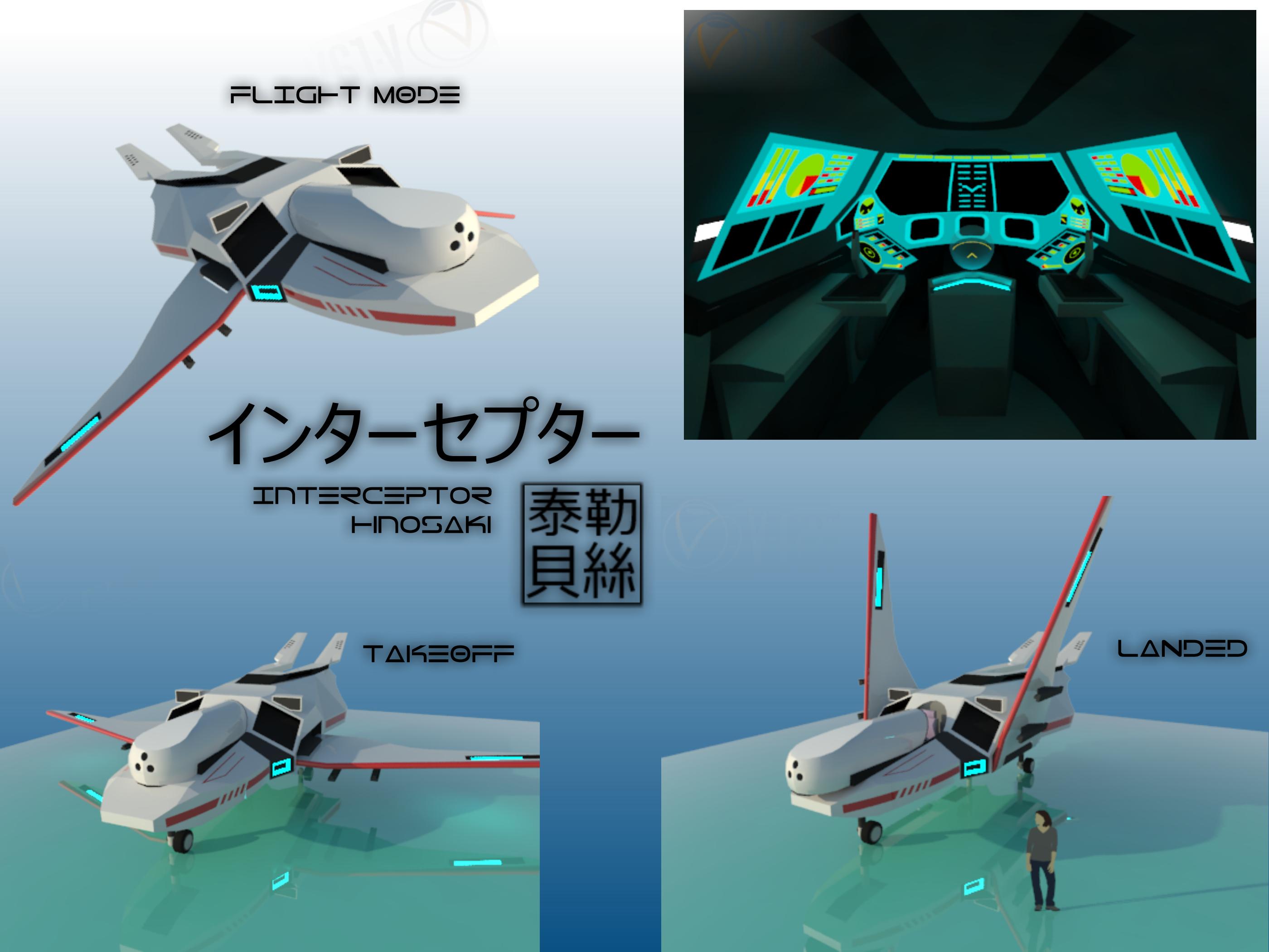 Hinosaki Interceptor [Aquarions] by Gwentari
