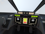 Galera Cockpit instruments