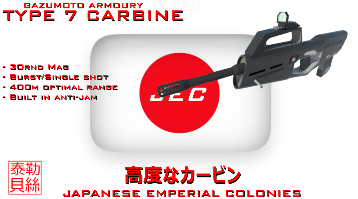JEC Type 7 Carbine by Gwentari