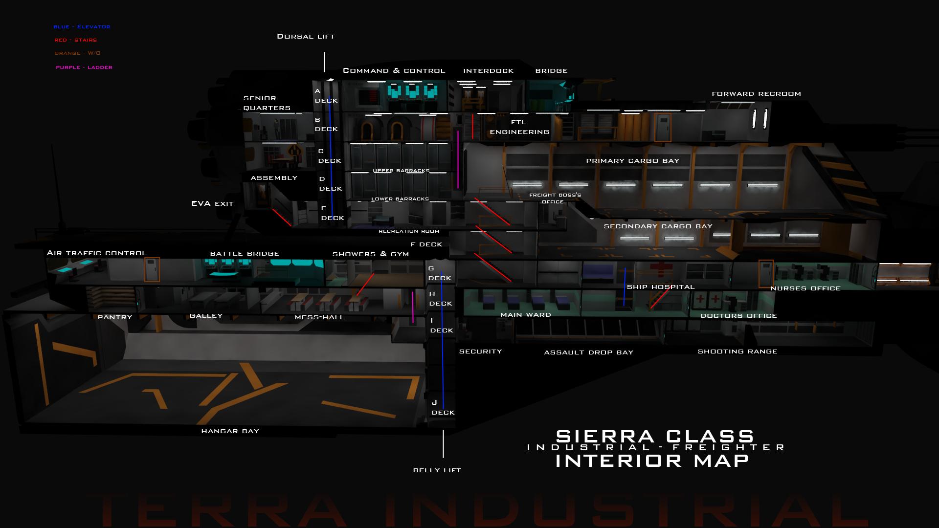 Sierra Class Interior Map V2 by Gwentari