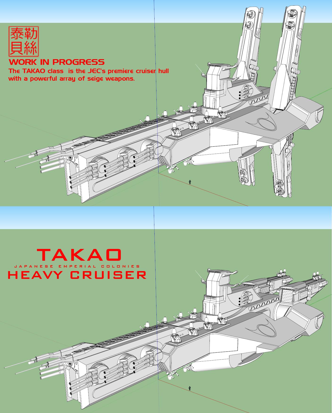WIP JEC Takao Class by Gwentari