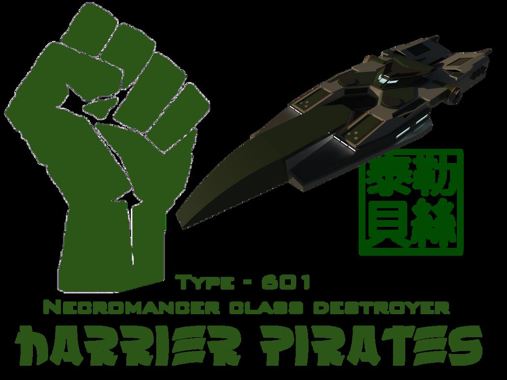 Type - 601 Necromancer Class Destroyer by Gwentari