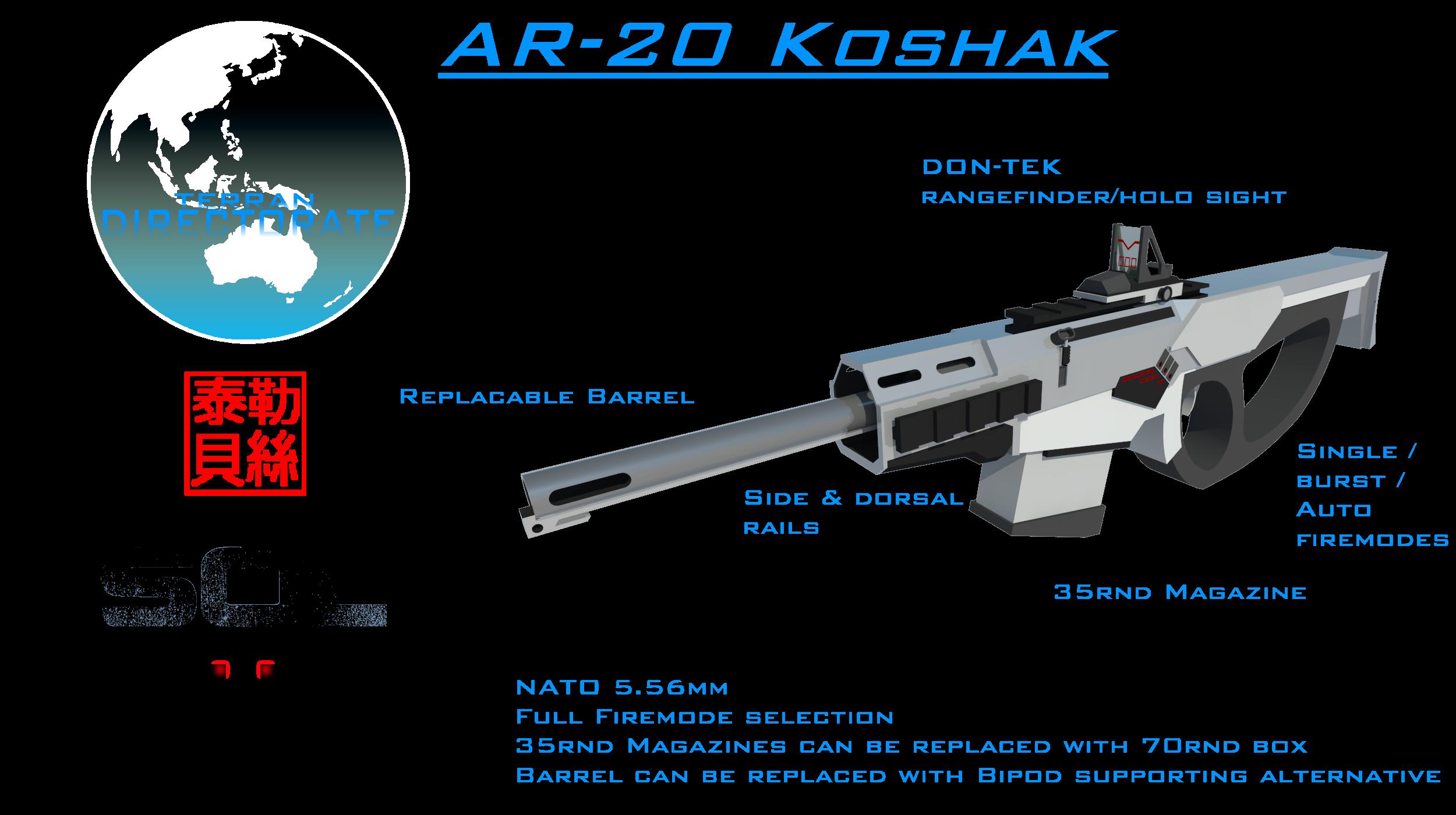AR-20A Koshak by Gwentari