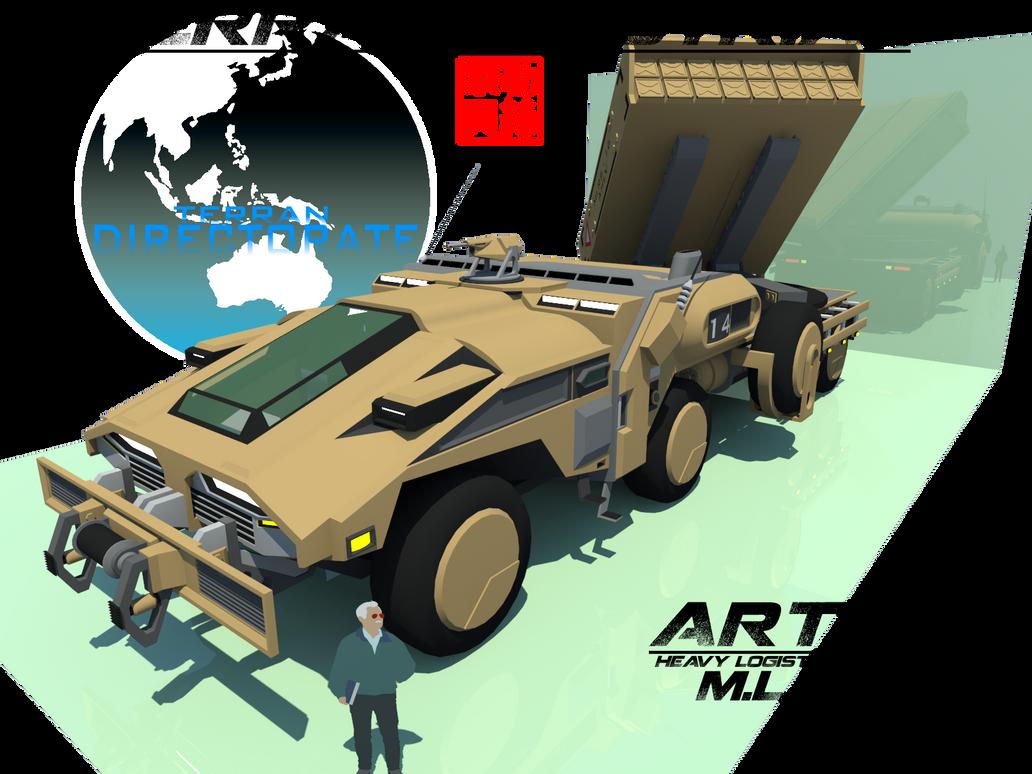 Artek HLV - MLRS by Gwentari