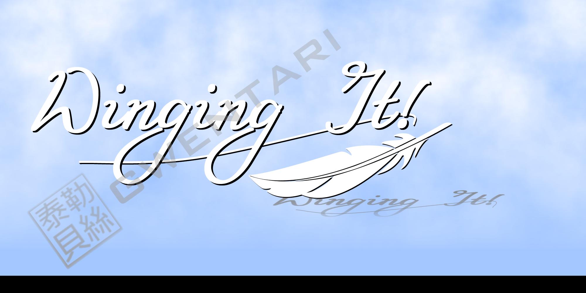 Winging It! by Gwentari