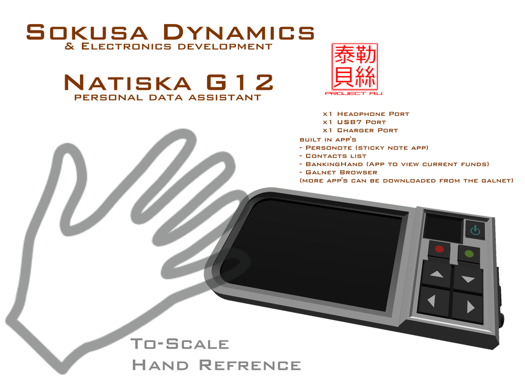 Natiska G12 PDA by Gwentari