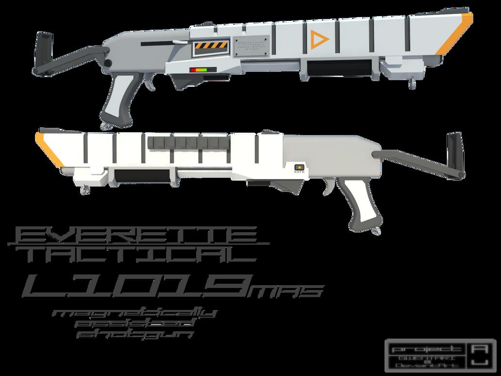 Everette Tactical L1019mas by Gwentari