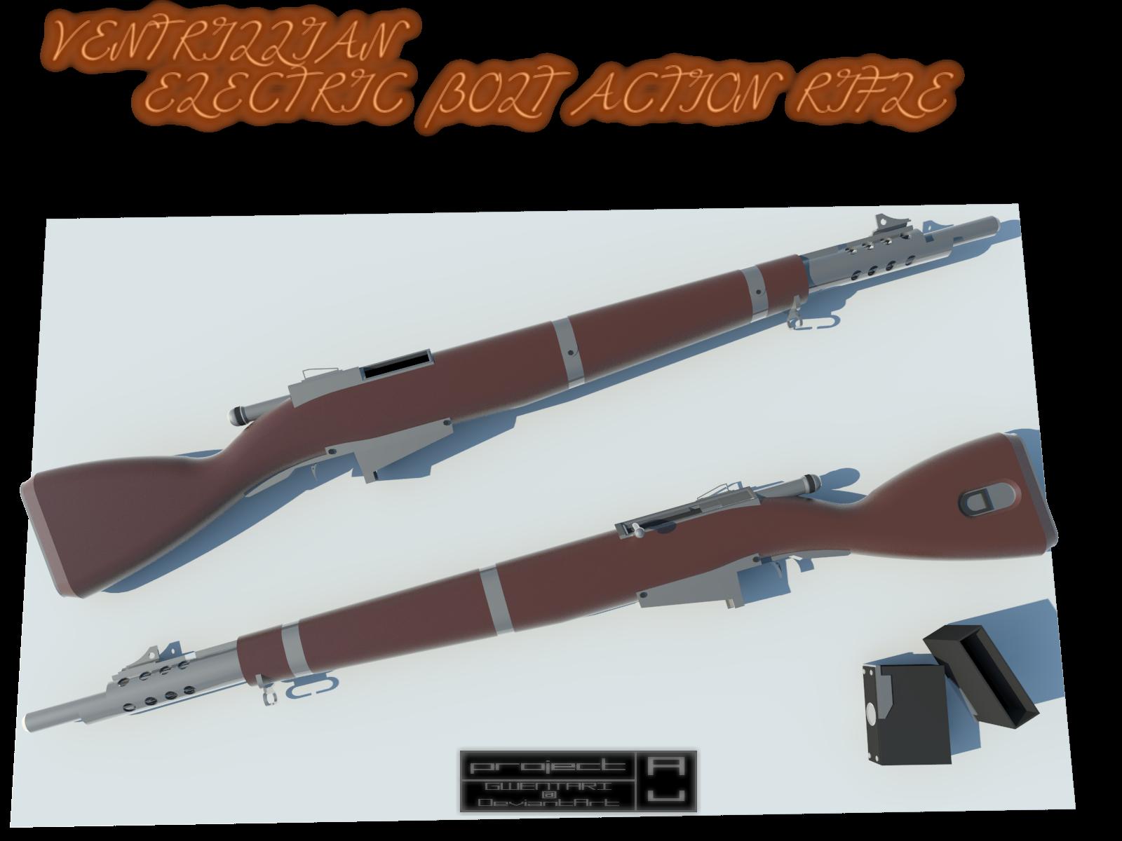 Ventrillian Electric Musket by Gwentari