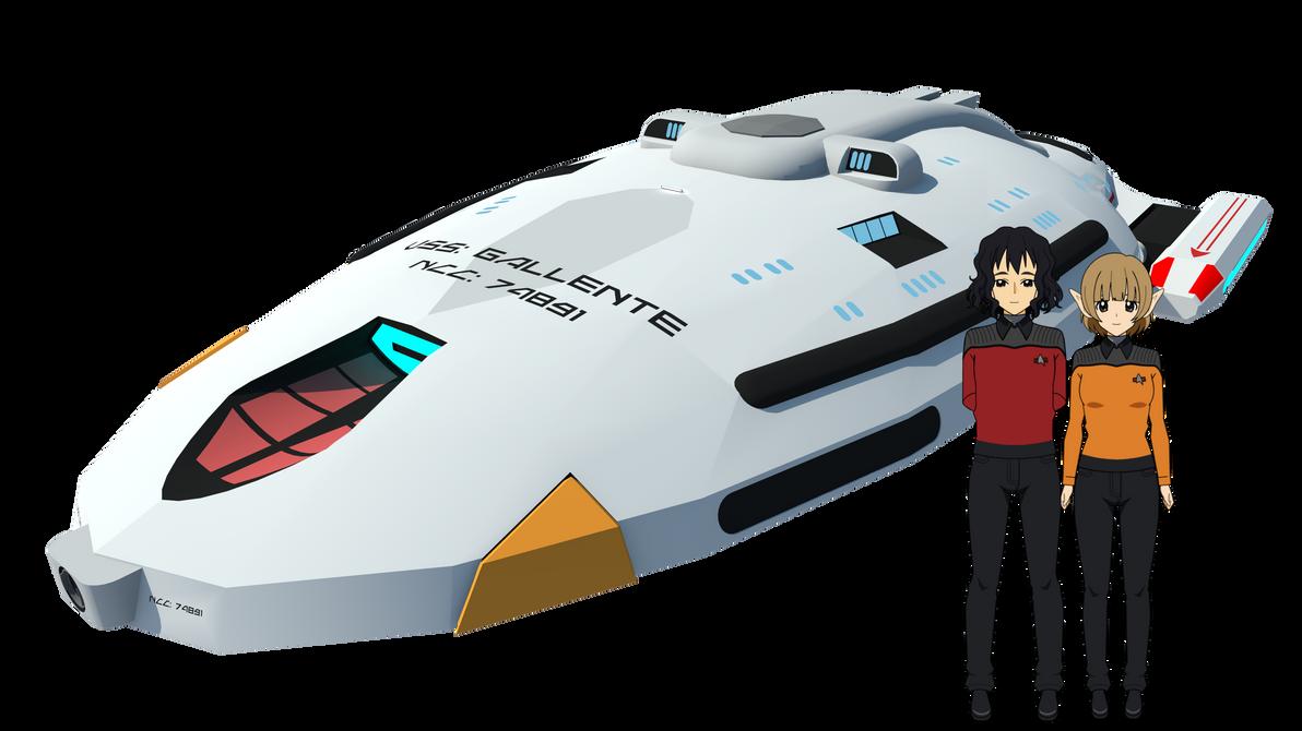 USS: Gallente NCC: 74891 by Gwentari
