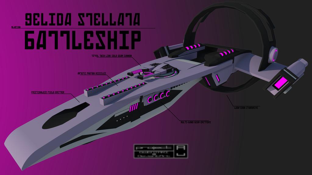 Gelida Stellata Battleship by Gwentari