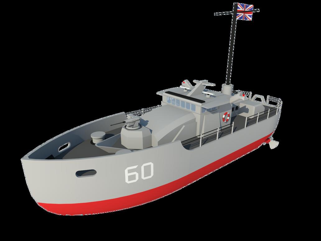 Patrol Boat by Gwentari