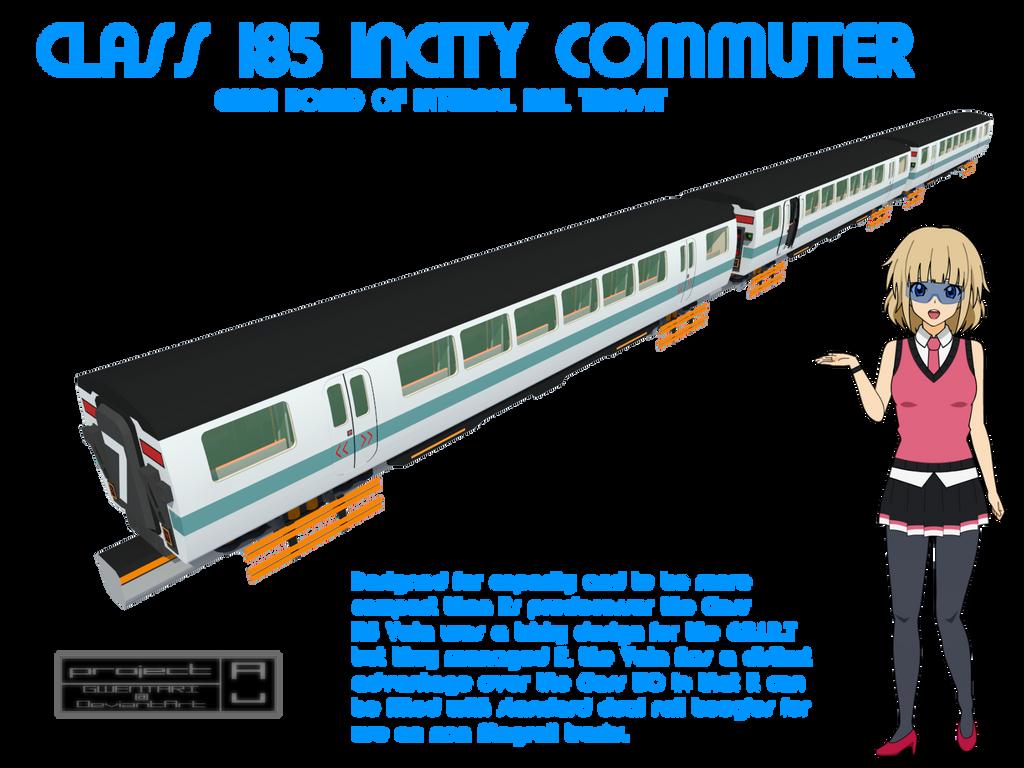 Class 185 Vala Incity Commuter by Gwentari