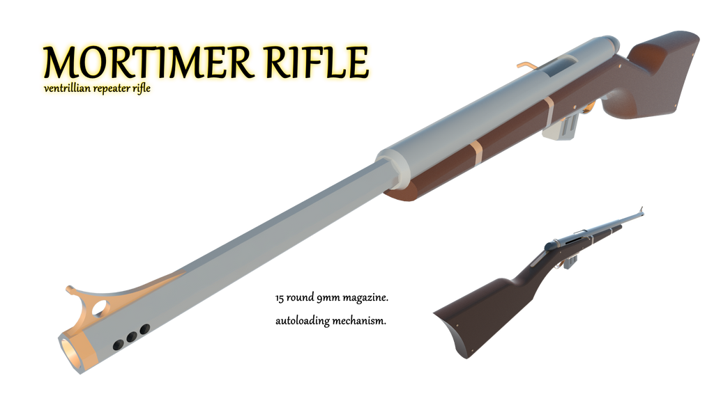 Mortimer Rifle by Gwentari