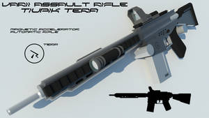 Tiupik Tera Assault Rifle by Gwentari