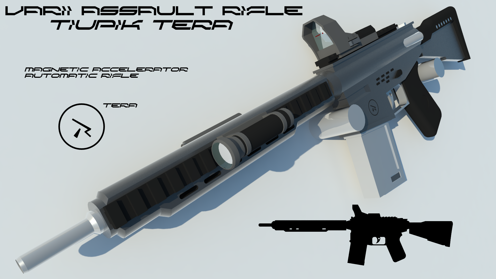 Tiupik Tera Assault Rifle by Gwentari
