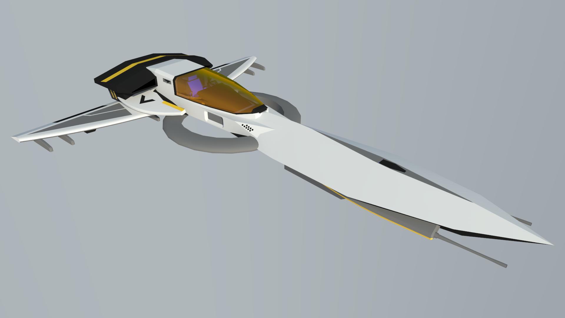 Hurricane Class Interceptor by Gwentari