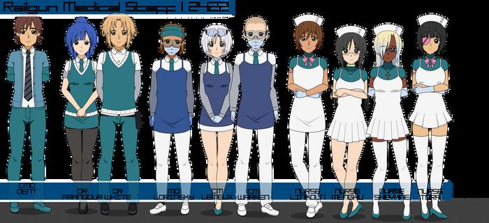 Railgun Medical Staff