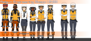 Railgun Engineering Staff