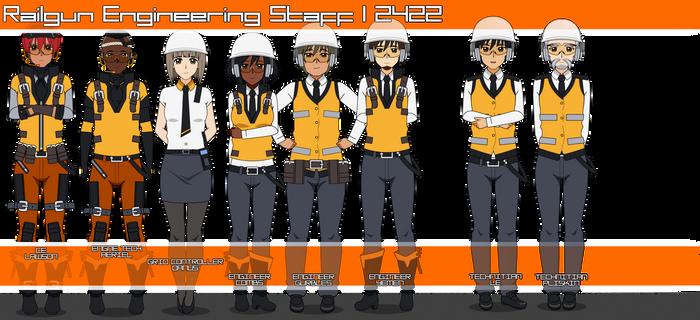 Railgun Engineering Staff