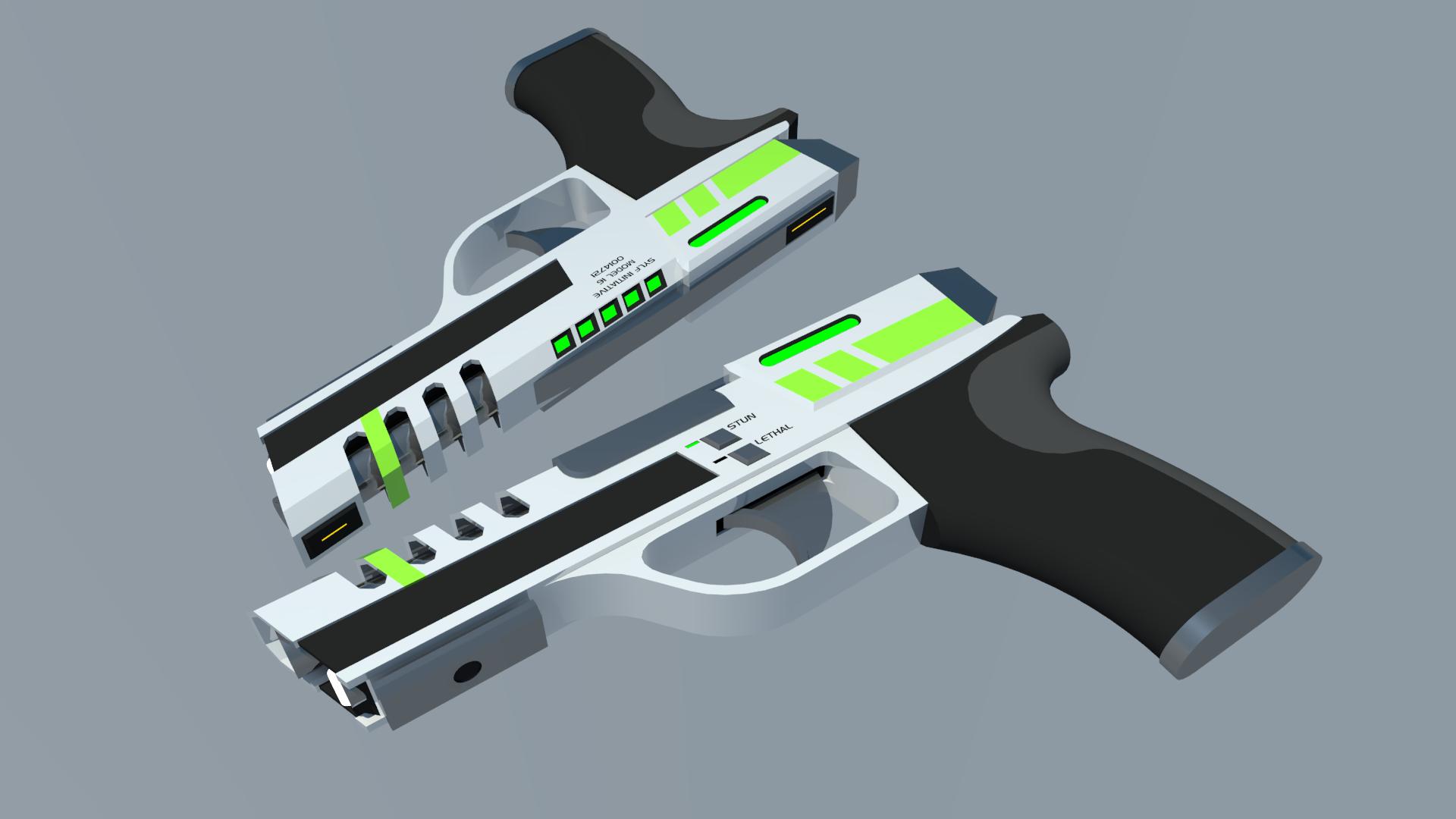 Model 16 Razor by Gwentari