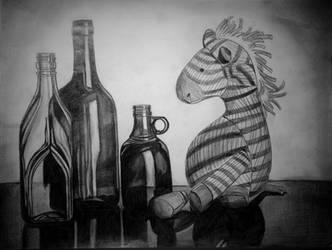 Drunk Zebra
