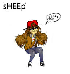 sHEEp (Album Cover) catch me on $oundcloud ladies