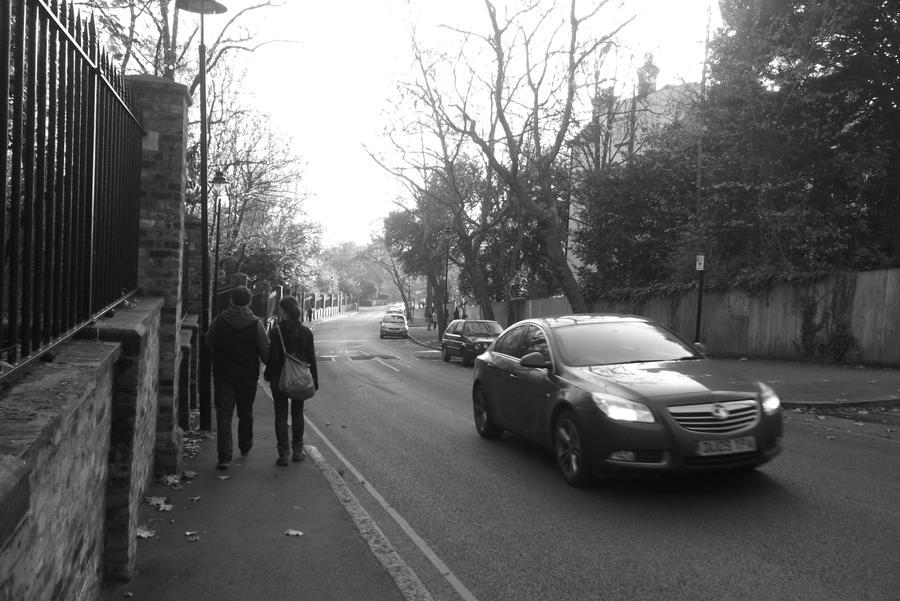 Walking Along by Childoftheflower
