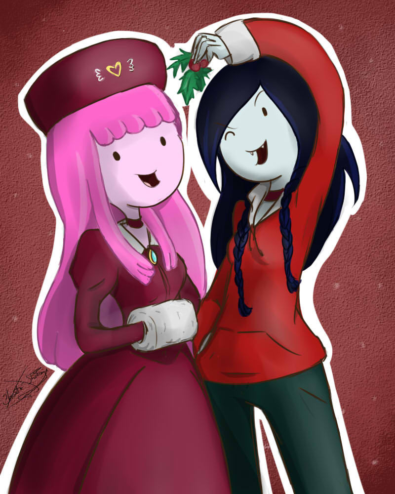 .: Marcie n Bubble :. by TheChaoticShadow