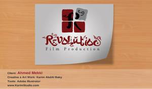 Revolution  Ahmed Mekki logo by KarimStudio