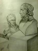 Homerus - Marie Antoinette by KarimStudio