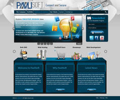 Pavli Soft WebSite by KarimStudio