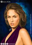 Megan Fox | Digital Painting