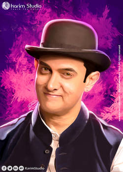 Aamir khan   Digital Painting