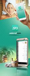 Salonatcom UI/UX Mobile app by KarimStudio