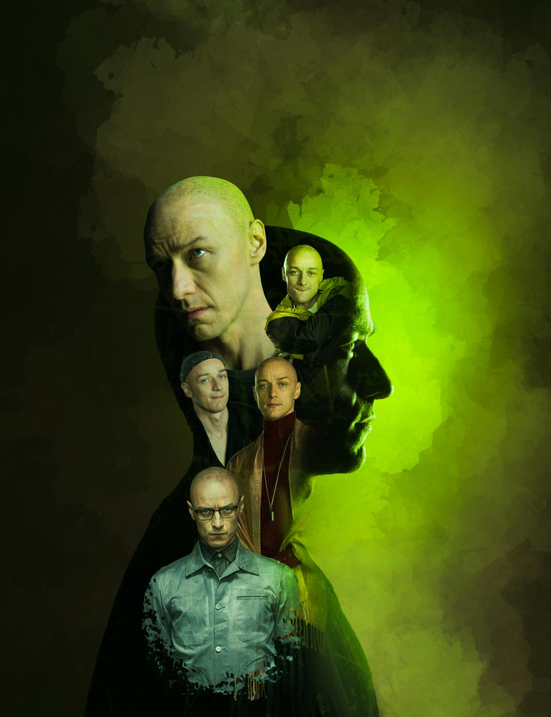 Split Movie Poster by KarimStudio