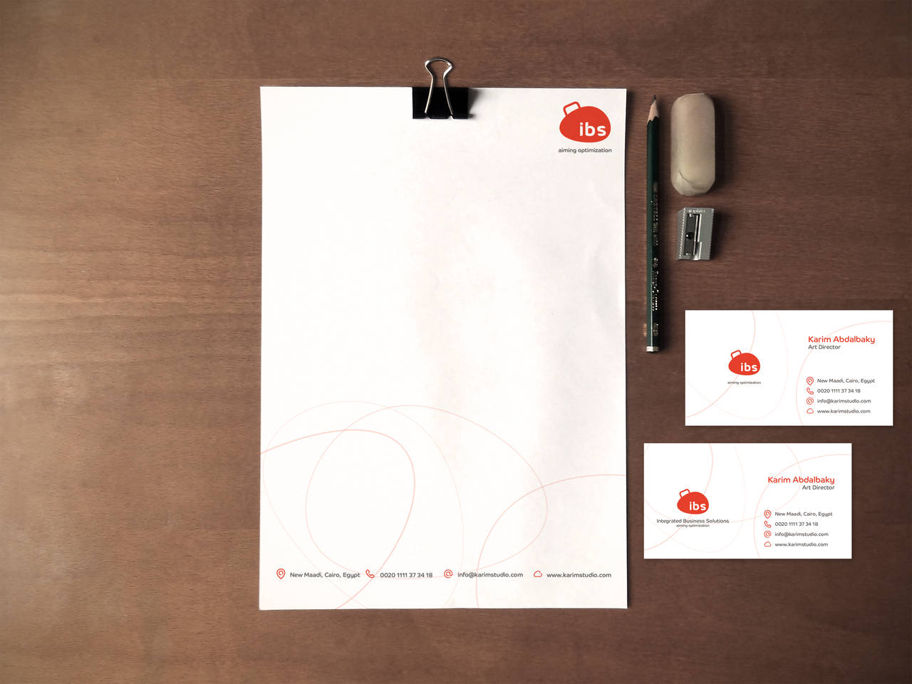 Integrated Business Solutions Identity Corporate by KarimStudio