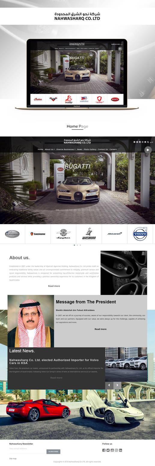 NAHWASHARQ | UI/UX Design