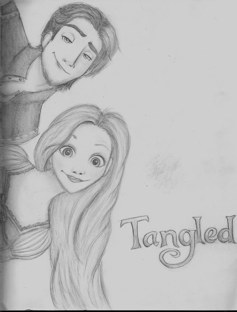Rapunzel and Eugene :B by LikeATowtruck on DeviantArt for tangled rapunzel and flynn drawing  174mzq
