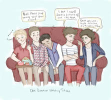 One Direction Movie Night by LikeATowtruck