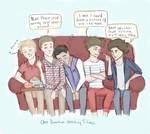 One Direction Movie Night
