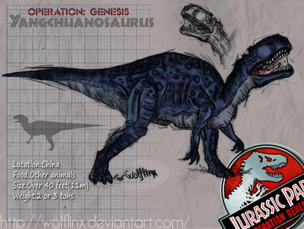 Yangchuanosaurus-jpog by WolfLinx on DeviantArt