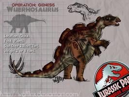 Wuerhosaurus. by WolfLinx