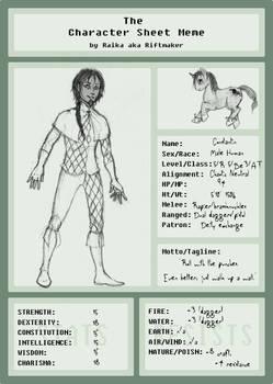 Constantin Character Sheet