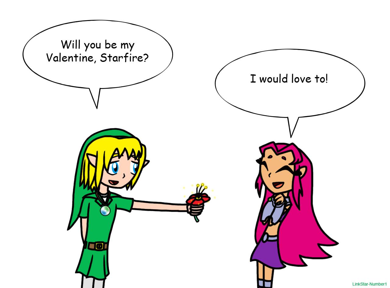 valentine's day - linkstar (teen titans go!)linkstar-number1, Ideas