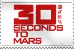 30 Seconds To Mars Stamp by whenSmyledoesnttalk